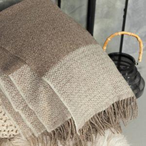 Decken und Plaids aus 100% Wolle