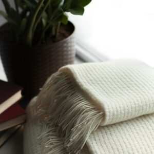 Decken und Plaids aus 80% Merinowolle